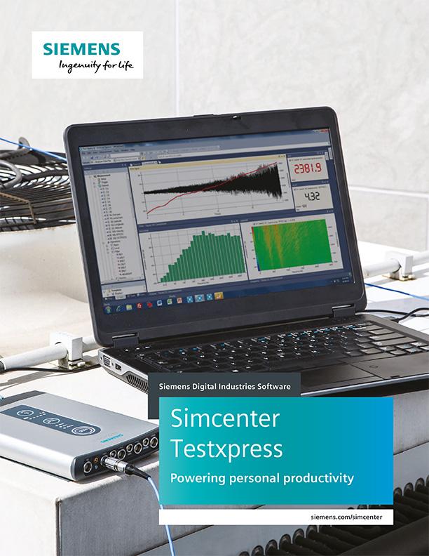 Simcenter Testxpress Broschüre